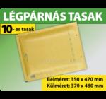 LÉGPÁRNÁS BORÍTÉK (BARNA) 10-es TASAK